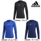 Yahoo!フタバスポーツサッカー館ヤフー店アディダス adidas ALPHASKIN TEAM ロングスリーブシャツ EVN55 サッカー 長袖 インナー 特価 セール