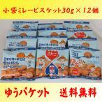 小袋ミレービスケット30g×12個 野村煎豆加工店 ゆうパケット対応 送料無料