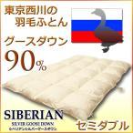 西川羽毛布団 東京西川 シベリアングースダウン 90% 羽毛布団DD3510SDL(セミダブルサイズ