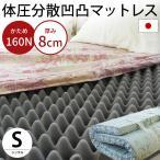 マットレス シングル 日本製 高硬度プロファイルウレタン 硬め140ニュートン 指圧 敷き布団 ソフラン