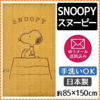 のれん スヌーピー 日本製 暖簾 キャンパス 85×150cm ピーナッツ ゆうメール便
