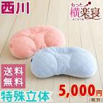 ショッピング西川 枕 まくら 東京西川 西川産業 もっと横楽寝枕 高さ調節・丸洗いOK枕(大人サイズ)・35×61cm