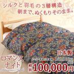 羽毛布団 シングル 日本製 掛け布団 ダウン90% ウィリアム・モリス 寝具シングル