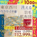 ショッピング西川 肌掛け布団 シングル 東京西川 グース ダウン90% 羽毛布団 夏 肌布団 抗菌防臭 西川 日本製