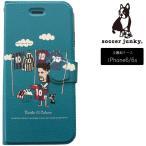 サッカージャンキー スマホケース 手帳型 iPhone6/6S Select10 SJFL007