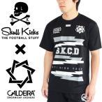 スカルキックス×キャルデラ プラシャツ SKULL KICKS/CALDEIRA TOPS SK17SS007