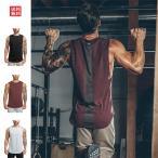 Manatsulife タンクトップ メンズ トレーニングウェア ノースリーブ スポーツウェア インナー トップス フィットネス 筋トレ 袖なし 運動 tシャツ BX20