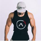 Manatsulife タンクトップ メンズ トレーニングウェア ノースリーブ スポーツウェア インナー  トップス フィットネス 筋トレ 袖なし 運動 tシャツ BX25