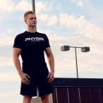 Manatsulife Tシャツ メンズ トレーニングウェア 半袖 トップス インナー ストレッチ スポーツシャツ 筋トレ ジムウェア フィットネス 夏 DT29