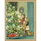 Vintage★グリーティングカード「クリスマス・イブ」/輸入雑貨/ターシャ・テューダー/クリスマスカード<レターパックライト対応>