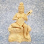 仏像 裸弁財天坐像(はだかべんざいてんざぞう)桧彫