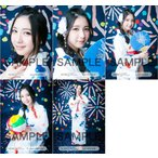 松岡菜摘 生写真 HKT48 2016年07月 個別 夏祭り 5枚コ
