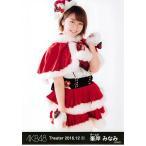 峯岸みなみ 生写真 AKB48 2016.December 1 月別12月 B