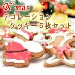 クリスマス プチギフト クッキー 5枚セット