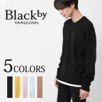 ショッピングblack Black by VANQUISH ブラックバイヴァンキッシュ COLORヘム レイヤード クルーネックニット ドロップショルダー