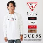 ゲス GUESS トレーナー スウェット 刺繍ロゴ長袖トレーナー トップス ユニセックス guess MJ4K8457K