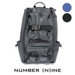 NUMBER (N)INE ナンバーナイン 5ZIPバックパック リュック バッグ BAG メンズ 通勤 通学 ブラック ネイビー