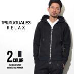 1PIU1UGUALE3 RELAX (ウノ ピュ ウノ ウグァーレ トレ リラックス) ラインストーンカモフラージュジャガードフードパーカ パーカー セレブ スウェット