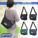 OUTDOOR PRODUCTS(アウトドアプロダクツ)サイドライン ミニメッセンジャーバッグ 鞄 肩掛け 斜め掛け ショルダーバッグ メンズ レディース