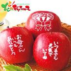 メッセージ入りりんごとアップルジュース 2021 母の日 メッセージカード ギフト プレゼント 果物 りんご りんごジュース セット 詰め合わせ 贈り物 お取り寄せ