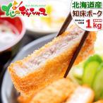 父の日 プレゼント 北海道産 豚肉 知床ポーク ロースセット 1kg(とんかつ用 100g×5枚/すき焼き用 500g) 豚肉 ギフト お礼 お返し 北海道 グルメ お取り寄せ