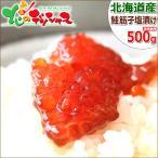 北海道産 新物 鮭筋子(塩漬け/500g) すじこ 塩筋子 ギフト 贈り物 母の日 父の日 お中元 お取り寄せ 北海道直送