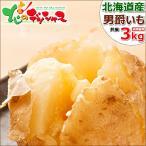 【予約】北海道産 新じゃが じゃがいも 男爵いも 3kg 男爵薯 馬鈴薯 ジャガイモ 越冬 野菜 ギフト 贈り物 自宅用 人気 北海道 食品 グルメ お取り寄せ