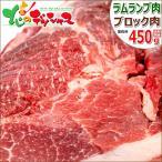 ラム肉 ブロック 450g(ランプ肉/冷凍) ランプ肉ブロック 羊肉 同梱 まとめ買い ギフト 贈り物 自宅用 お花見 BBQ バーベキュー グルメ 北海道 お取り寄せ