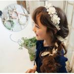 カチューシャ レース ヘアーアクセサリー 髪飾り ヘアアクセサリー k15-1