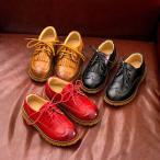 ウィングチップ フォーマルシューズ 紐靴 合皮靴 子供靴 男の子 フリンジ レースアップ sgi16055