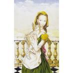 藤田嗣治 版画 名作『バルコニーの猫と少女』