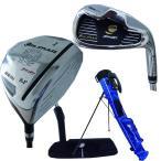 オリマー メンズ ゴルフ スターターセット(ドライバー.アイアン×2.パター) スタンドバッグ付