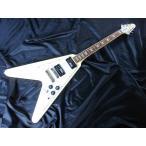 【値上げ前 旧品番 店頭展示品 在庫限り】 EDWARDS E-FV-100D Vintage White エドワーズ エレキギター