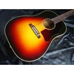 【店頭展示品】 Gibson 1950's J-45 Red Spruce Triburst 【#13326024】 今なら ギブソン ポンプ・ポリッシュ/クロス コンボ と 湿度計 サービス