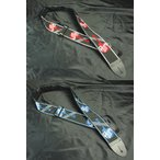 """Gibson 2"""" Woven Strap with Gibson Logo Guitar Strap Red 【ASGG-600】 / Blue 【ASGG-800】ギブソン 2インチ・ウーヴェン・ギター・ストラップ 赤 / 青"""