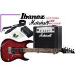Ibanez GRX70QA TRB & Marshall MG10CF アイバニーズ  エレキギター・初心者ベーシック・8点・セット