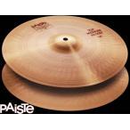 "PAISTE 2002 Medium Hi-Hat 14""(35cm) Top & Bottom Set パイステ ミディアム・ハイハット・シンバル 14インチ トップ & ボトム セット"