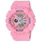 ショッピングbaby BABY-G ベビーG ベビージー Pink Bouquetシリーズ カシオ CASIO アナデジ 腕時計 ピンク BA-110-4A1JF 国内正規モデル