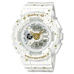 ショッピングbaby BABY-G ベビーG ベビージー STARRY SKY SERIES スターリー・スカイ・シリーズ カシオ CASIO アナデジ 腕時計 ホワイト BA-110ST-7AJF 国内正規モデル