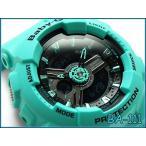 ショッピングCASIO CASIO BABY-G カシオ ベビーG ベビージー 逆輸入海外 限定モデル アナデジ 腕時計 グリーン ブラック BA-111-3ACR BA-111-3A