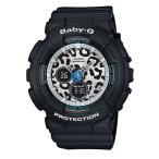 ショッピングbaby CASIO BABY-G カシオ ベビーG レオパードシリーズ アナデジ 腕時計 ブラック BA-120LP-1AJF 国内正規モデル
