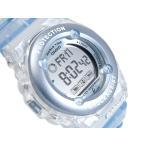 ベビーG Baby-G カシオ アナデジ 腕時計 ベビーG Baby-G BABY-G スケルトンブルー BG-1302-2DR