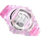 ベビーG カシオ Baby-G 腕時計 ベビーG BABY-G デジタル腕時計 ピンク スケルトン BG-169R-4DR