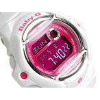 ベビーG Baby-G カシオ デジタル 腕時計 ベビーG Baby-G BABY-G ピンク ホワイト BG-169R-7DDR BG-169R-7D