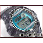 ベビーG Baby-G ベビージー BG-169シリーズ 逆輸入海外モデル カシオ CASIO デジタル 腕時計 スケルトン グレー グリーン BG-169R-8B