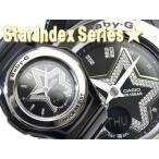 ベビーG カシオ Baby-G 腕時計 ベビーG Star Index Series スターインデックス BABY-G アナデジ腕時計 ブラック BGA-103-1BDR