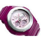 ベビーG Baby-G カシオ アナデジ 腕時計 ベビーG Baby-G スターインデックス BABY-G ピンク パープル BGA-104-4B2DR