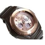 ベビーG Baby-G カシオ アナデジ 腕時計 ベビーG Baby-G スターインデックス BABY-G ピンクゴールド ブラウン BGA-104G-5BDR