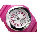 ベビーG カシオ Baby-G 腕時計 ベビーG Heart Index Series ハートインデックスシリーズ BABY-G アナデジ腕時計 ピンク BGA-105-4BDR