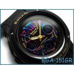 CASIO BABY-G カシオ ベビーG Cosmic Index Series コズミックインデックスシリーズ 逆輸入海外モデル アナデジ 腕時計 ブラック BGA-1..